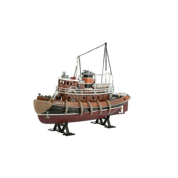Revell Model Set Harbour Tug Boat 1:108