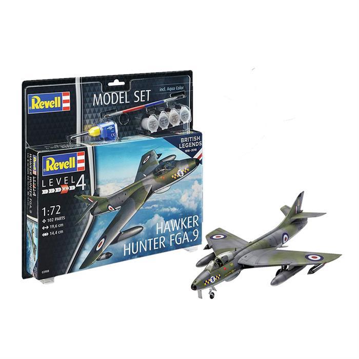 Revell Model Set RAF Hawker Hunter 1:72
