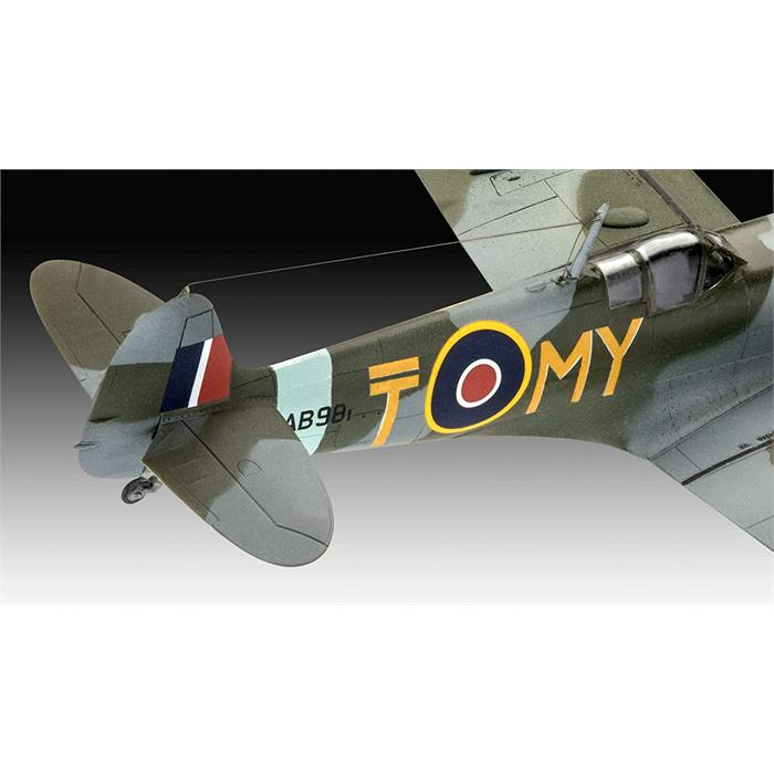 Revell Model Set Me262 P-51B