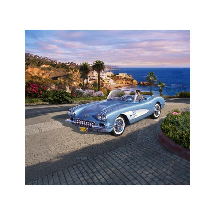 Revell Model Set 58 Corvette Roadster 1:25