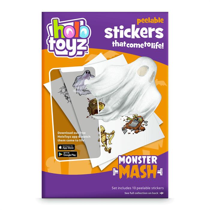 HoloToyz Sticker Monster Mash AR Uyumlu Etiket
