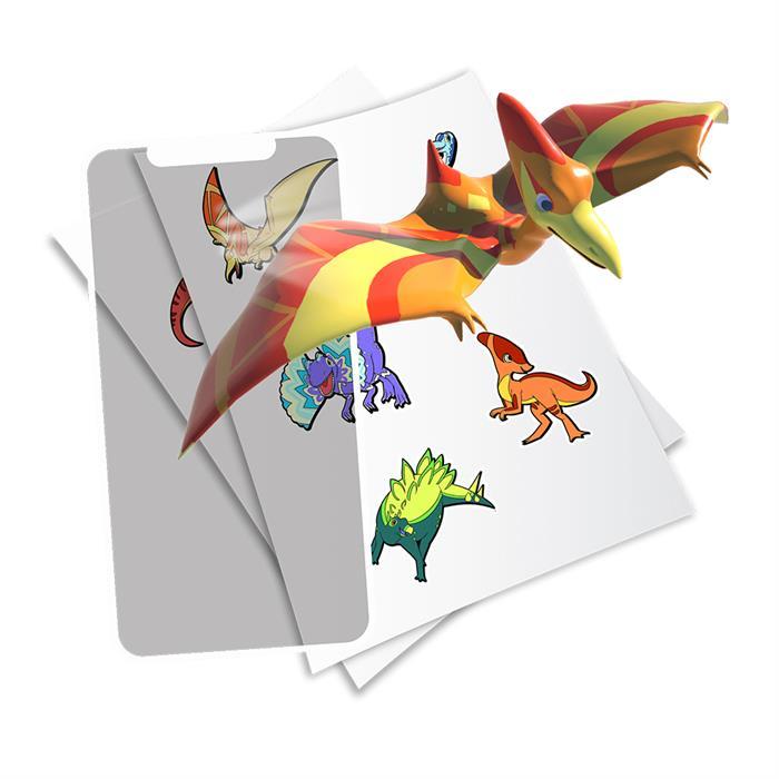 HoloToyz Sticker Jurassic Dinos AR Uyumlu Etiket
