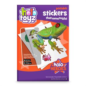 HoloToyz Sticker Holo Heroes AR Uyumlu Etiket