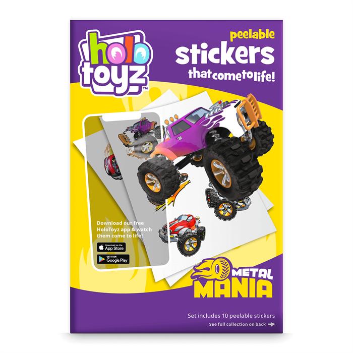 HoloToyz Sticker Metal Mania AR Uyumlu Etiket