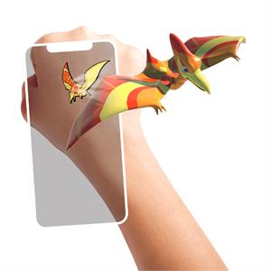 HoloToyz Tattoo Jurassic Dinos AR Uyumlu Geçici Dövme