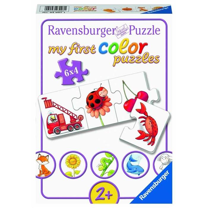 Ravensburger 6x4 Parçalı Puzzle İlk Renklerim 030071