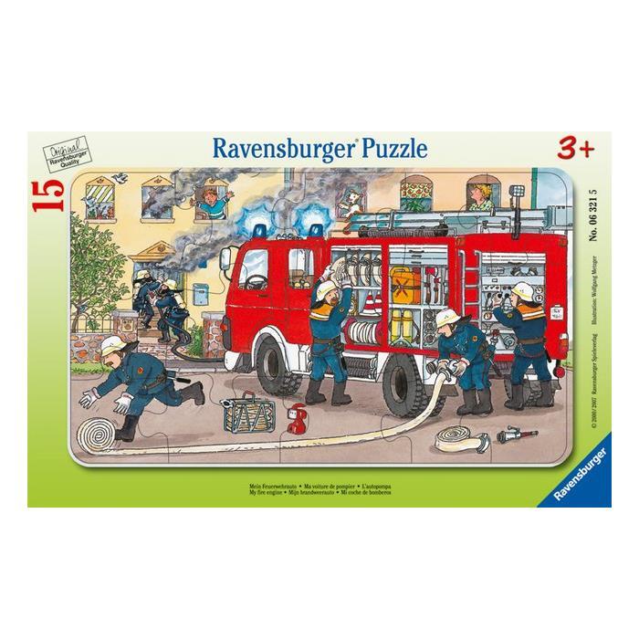 Ravensburger 15 Parçalı Puzzle Fireman 063215