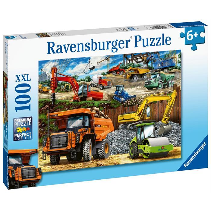 Ravensburger 100 Parçalı Puzzle Kamyonlar 129737