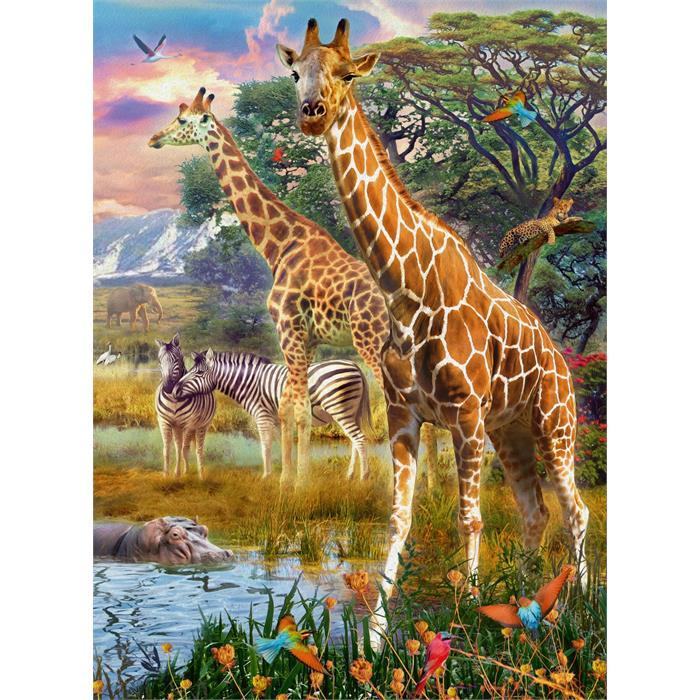 Ravensburger 150 Parçalı Puzzle Zürafalar 129430