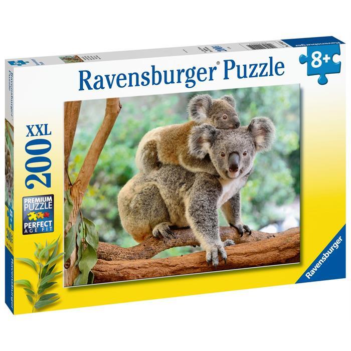 Ravensburger 200 Parçalı Puzzle Koalalar 129454