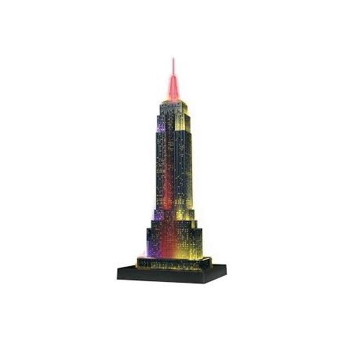 Ravensburger 3 Boyutlu Plastik PuzzleIşıklı Empire State 125661