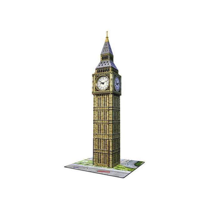 Ravensburger 3 Boyutlu Plastik Puzzle Big Ben Gerçek Saatli 125869
