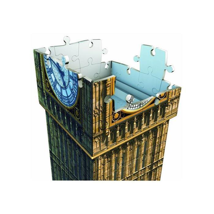 Ravensburger 3 Boyutlu Plastik Puzzle Eyfel Kulesi 125548