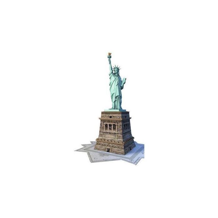 Ravensburger 3 Boyutlu PlastikPuzzleÖzgürlük Anıtı 125845