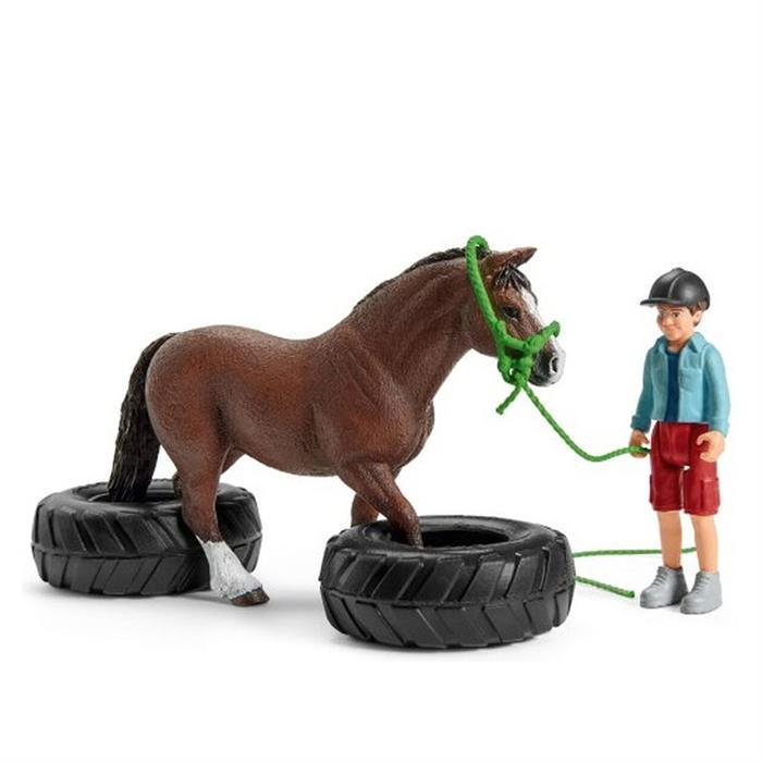Schleich 42482 Pony Yarış Seti