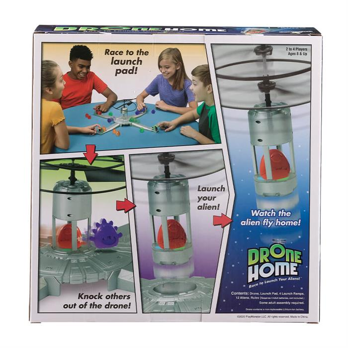 Play Monster Drone Home