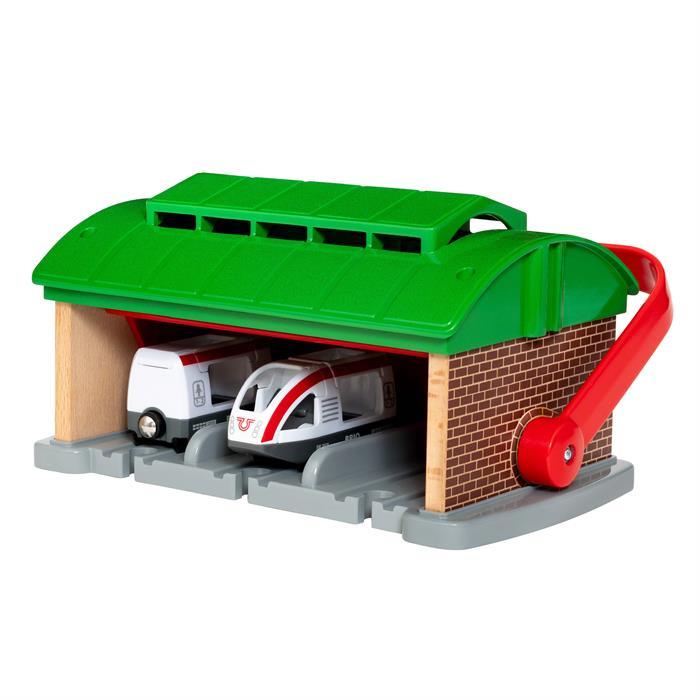 BRIO Taşınır Tren Garajı