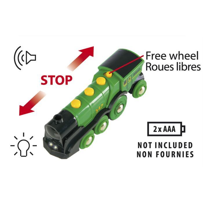 BRIO Yeşil Lokomotif