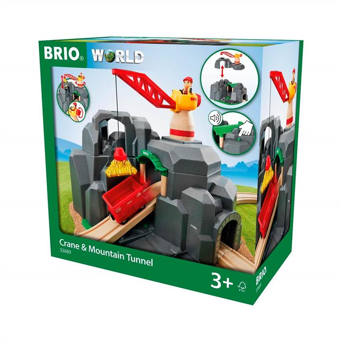 BRIO Vinç ve Tünel