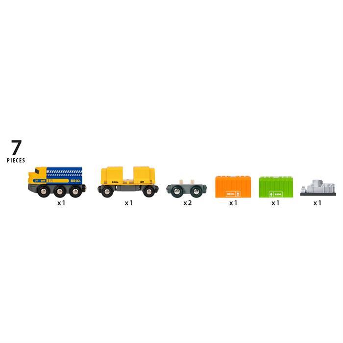 BRIO 3 Vagonlu Kargo Treni