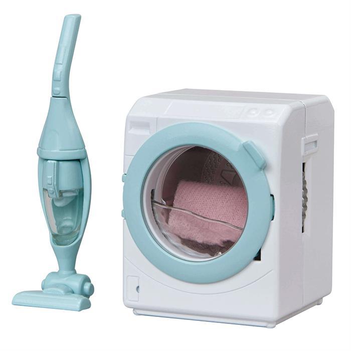 Sylvanian Families Çamaşır Makinası ve Elekrikli Süpürge 5445