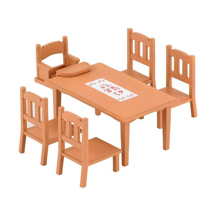 Sylvanian Families Yemek Masası ve Sandalye 4506