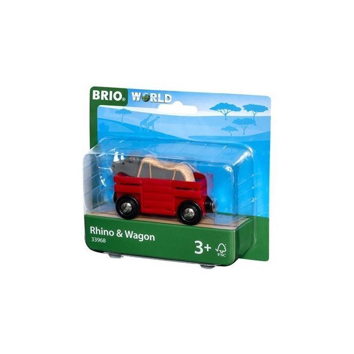 BRIO Gergedan ve Vagon 33968