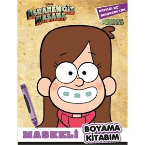 Esrarengiz Kasaba - Maskeli Boyama Kitabım - Mabel