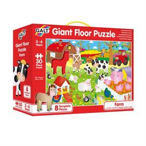 Galt Giant Floor Puzzle - Farm 30 Parça