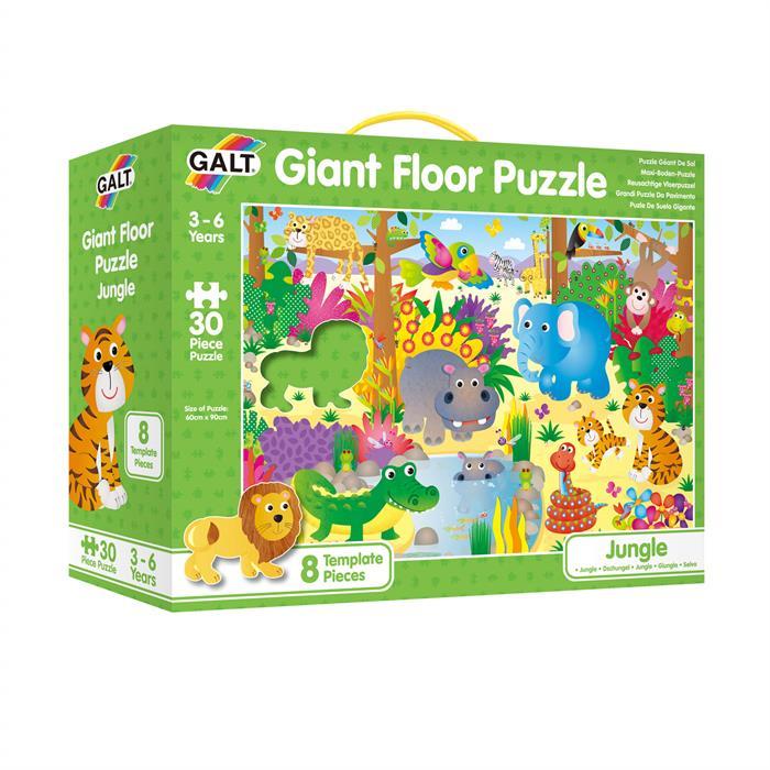 Galt Giant Floor Puzzle - Jungle 30 Parça