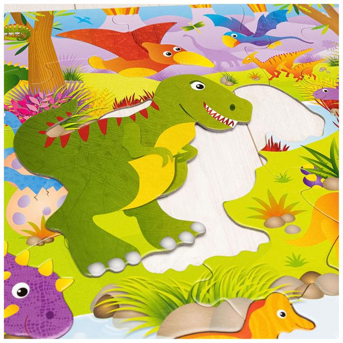 Galt Giant Floor Puzzle - Dinosaurs 30 Parça