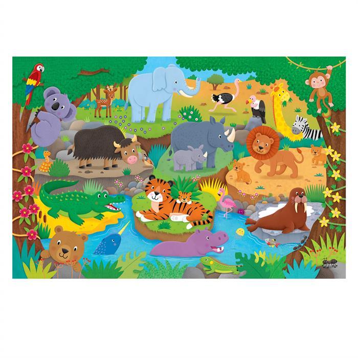 Galt Giant Floor Puzzle - Alphabet Animals 30 Parça