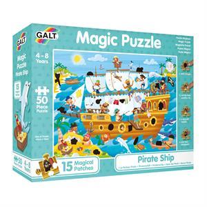 Galt Magic Puzzle - Pirate Ship 50 Parça