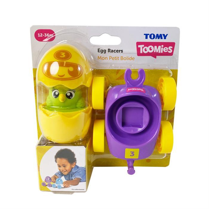 Tomy Yarışcı Yumurtalar - Sarı