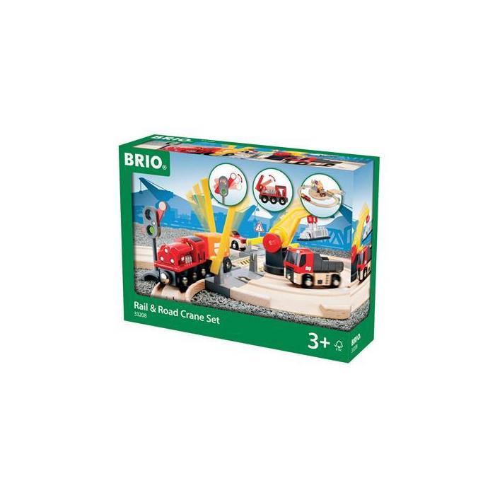 BRIO Tren ve Kara Yolu Yükleme Seti 33208