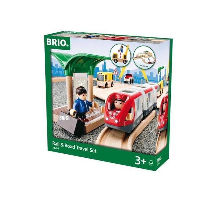 BRIO Tren ve Kara Yolu Seyahat Seti 33209