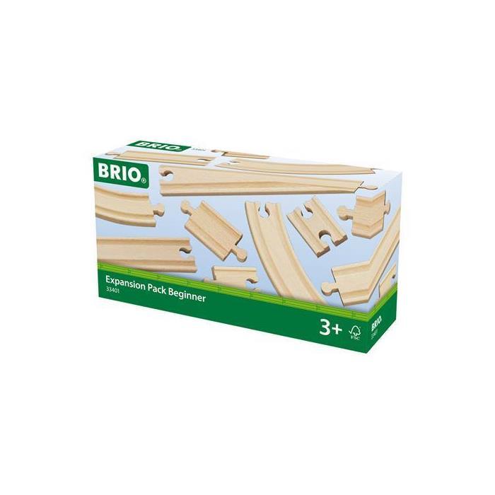 BRIO Başlangıç Düzeyi Birleştirilebilir Ray Paketi 33401