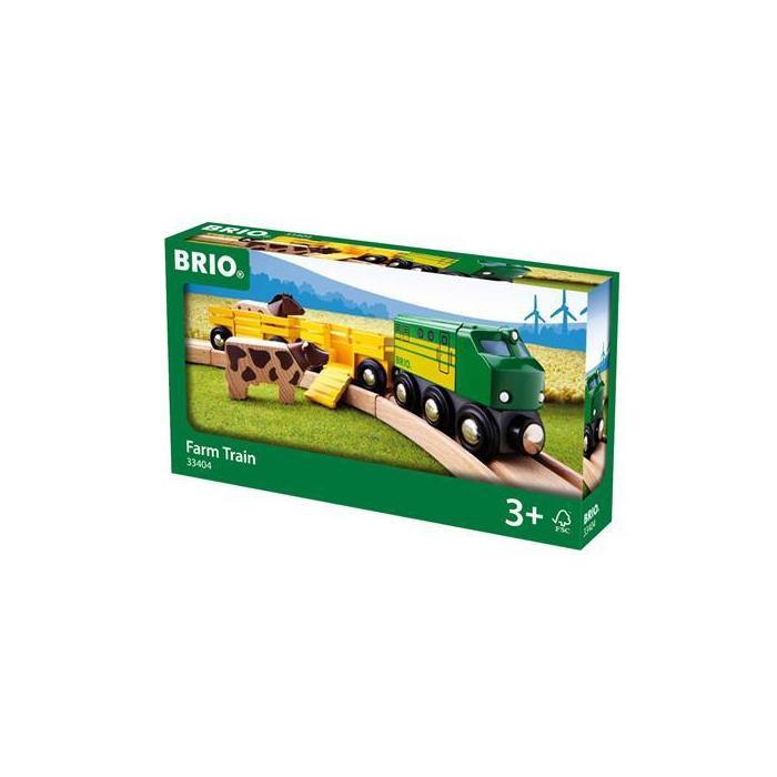BRIO Çiftlik Tren Seti 33404