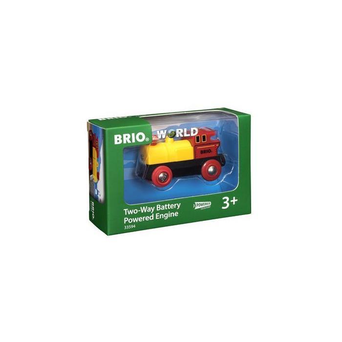 BRIO Çift Yönlü Pilli Lokomotif 33594