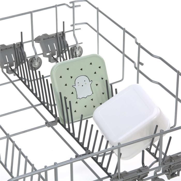 Lassig Beslenme Seti - Mint Küçük Sevimli Hayalet 3'lü