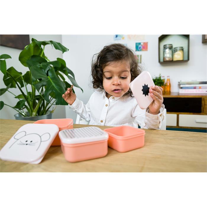Lassig Beslenme Seti - Küçük Sevimli Fare 3'lü