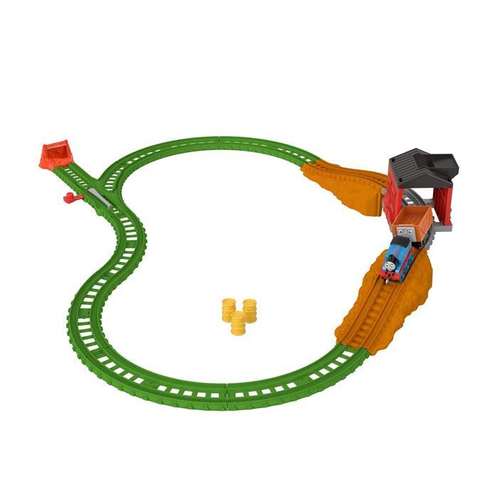 Thomas and Friends Yükleme İstasyonu Oyun Seti (Sür-Bırak Trenli)
