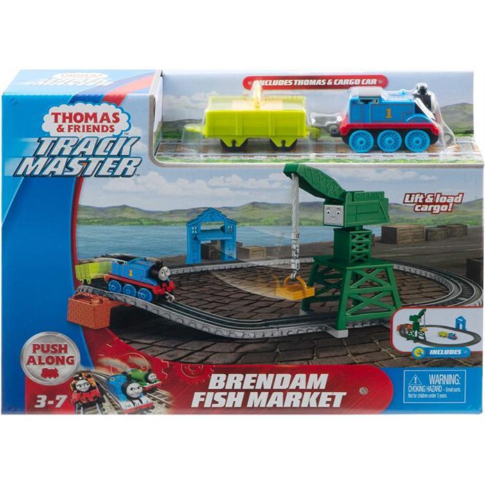 Thomas and Friends Thomas ve Cranky Kargo Macerası (Sür-Bırak Trenli)