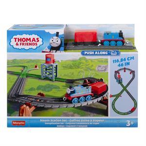 Thomas and Friends Buhar İstasyonu Seti (Sür-Bırak Trenli)