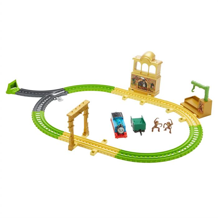 Thomas and Friends Orman Macerası Oyun Seti (Motorlu Trenli)