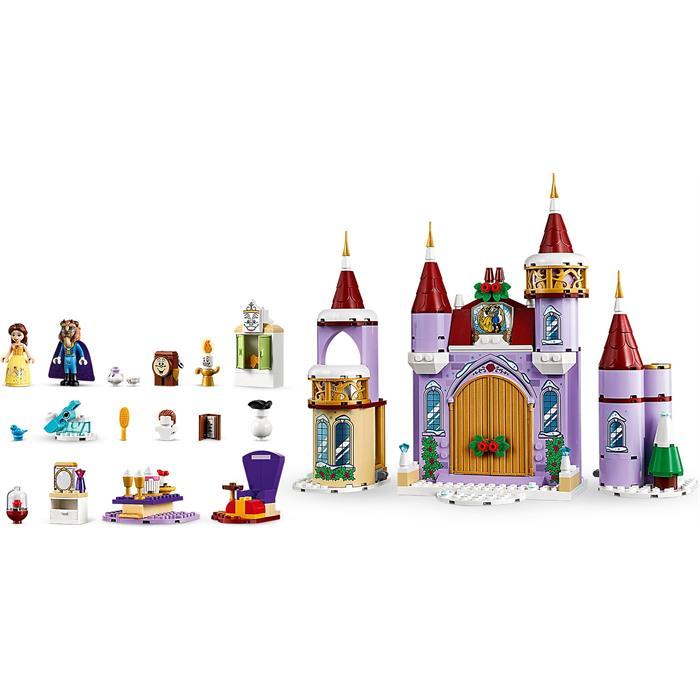 Lego Disney Princess 43180 Belle's Castle Winter Celebration