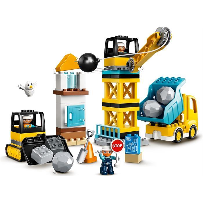 Lego Duplo 10932 Wrecking Ball Demolition