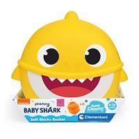 Clementoni Baby Shark Yumuşak Blok Kovası
