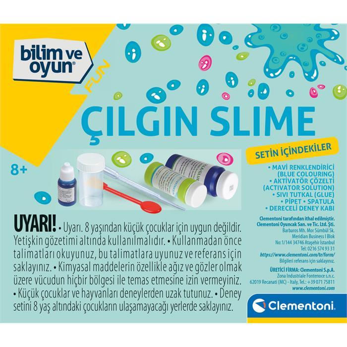 Clementoni Bilim ve Oyun - Çılgın Slime