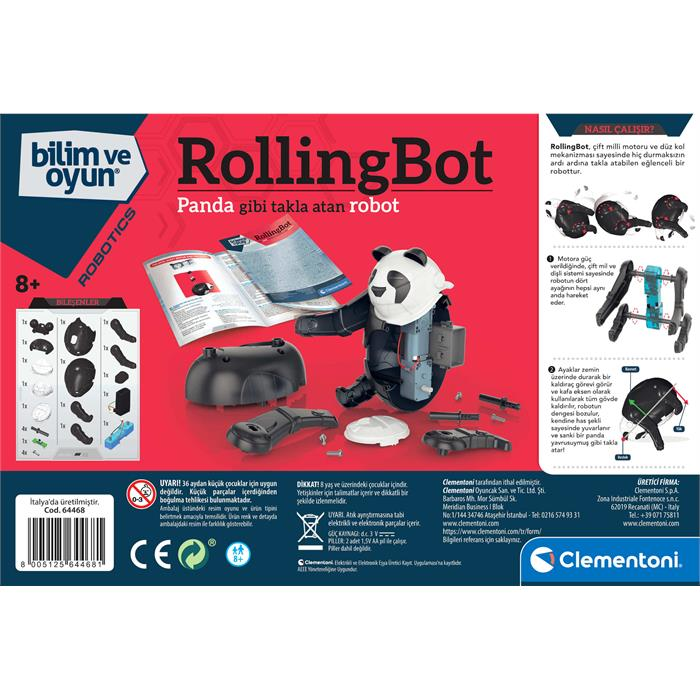 Clementoni Robotik Laboratuvarı - Rollingbot